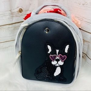 Kate spade Francois dog mini convertible backpack